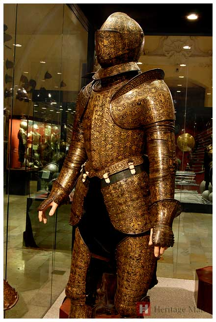 Grand Master Alof de Wignacourt Parade Armour