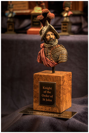 Scale model of a Knight of the Order of St. John